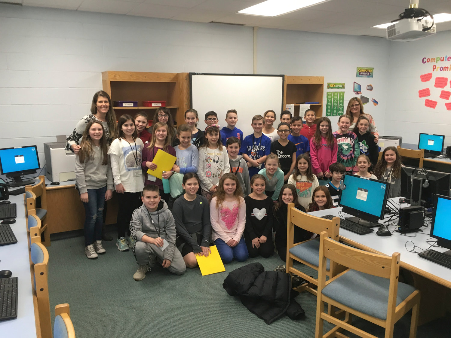 Forest Lake Elementary School students took time out from their recesses to participate in the school's newspaper club.
