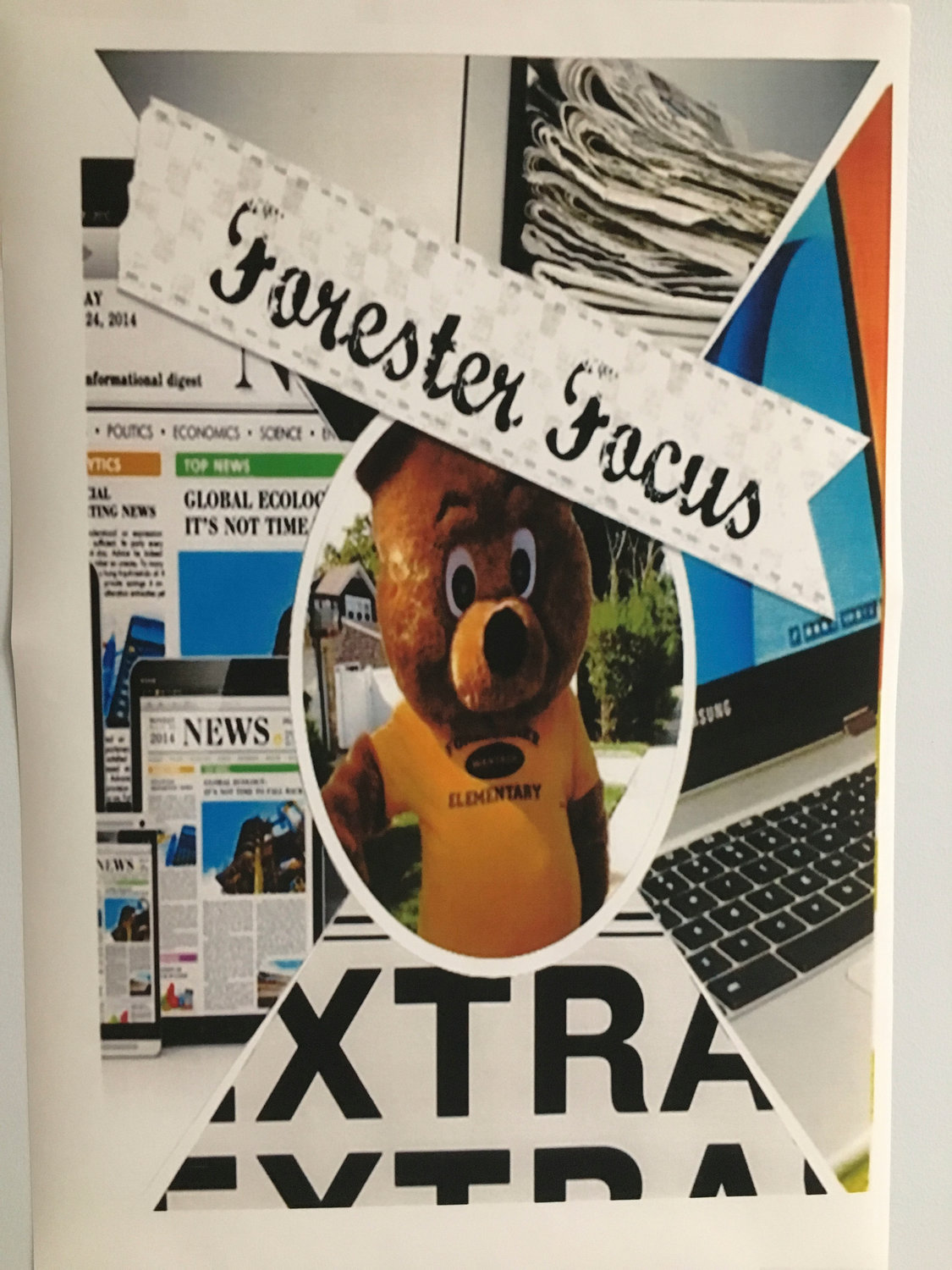 The students' digital newspaper is called the Forester Focus.