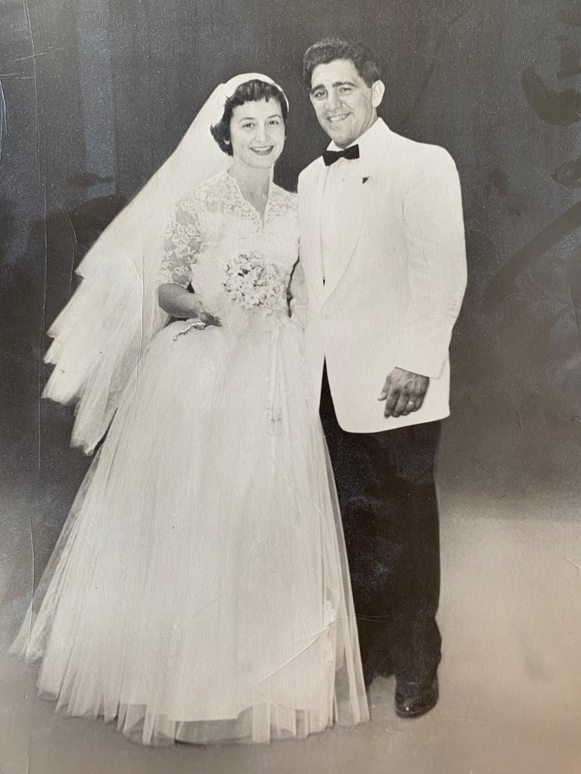 Alice and Lou Savinetti were married in 1953, and will celebrate their 66th anniversary on June 21.