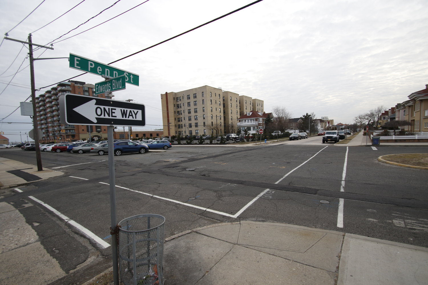 The city hosted an open house on Jan. 28 in City Hall to discuss a plan to revamp Edwards Boulevard to improve safety on the street with new bike lanes, bump-outs, curbs, sidewalks and crosswalks.