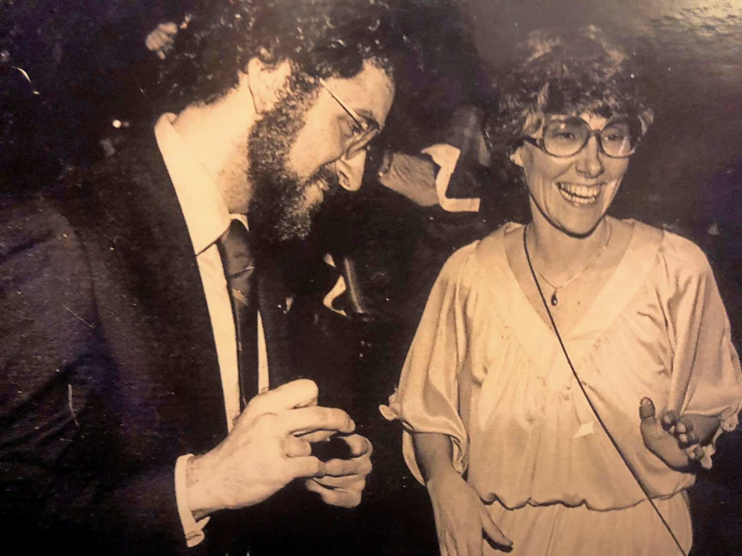 Dan and Ann at a fundraiser at Studio 54 in 1975.