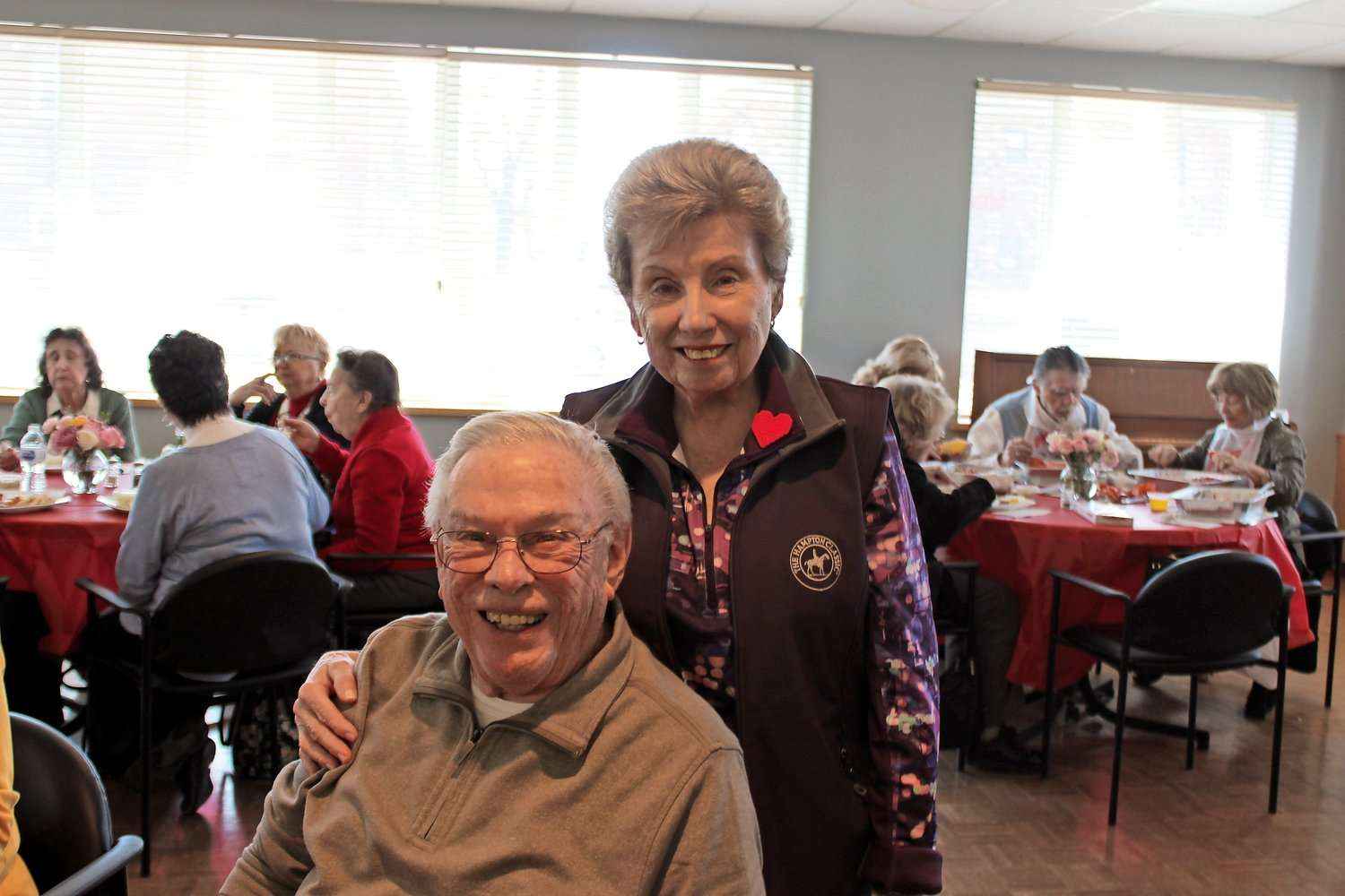 John and Claire Kirkwood celebrated their 63rd wedding anniversary on Feb. 13. The next day, they enjoyed a Valentine's Day lobster lunch at the Sandel Senior Center.