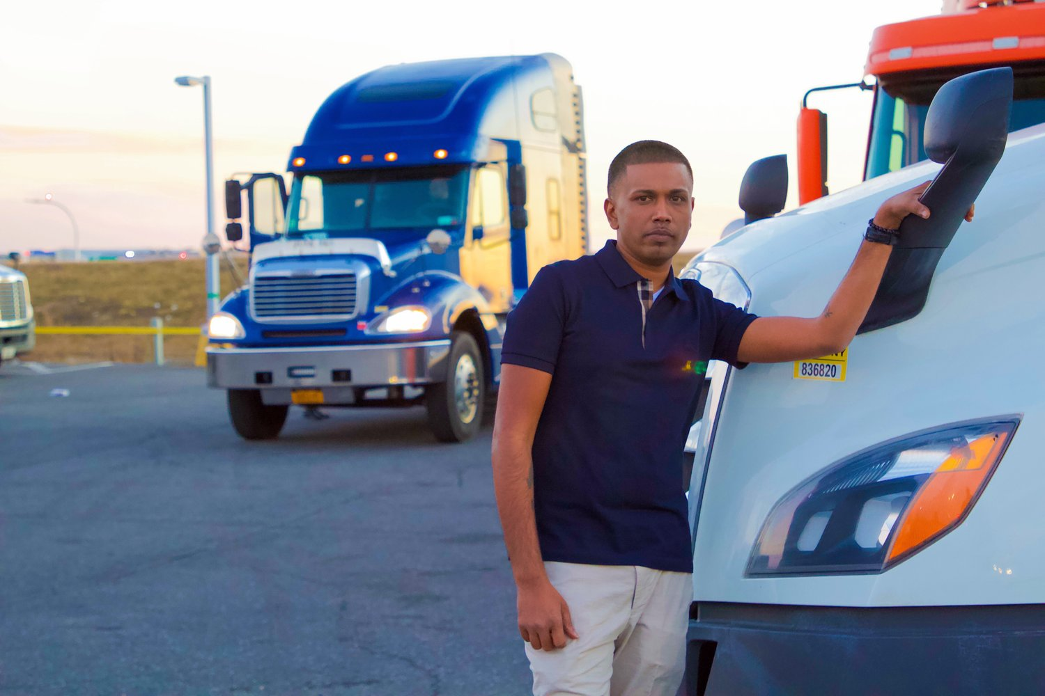Freeporter and Guyana native Ken Deocharran, 37, started his trucking and courier service business in 2006, and through his contracts with Amazon, has since built a $15 million company, with roughly 120 trucks delivering goods throughout the tristate area and in Chattanooga, Tenn.