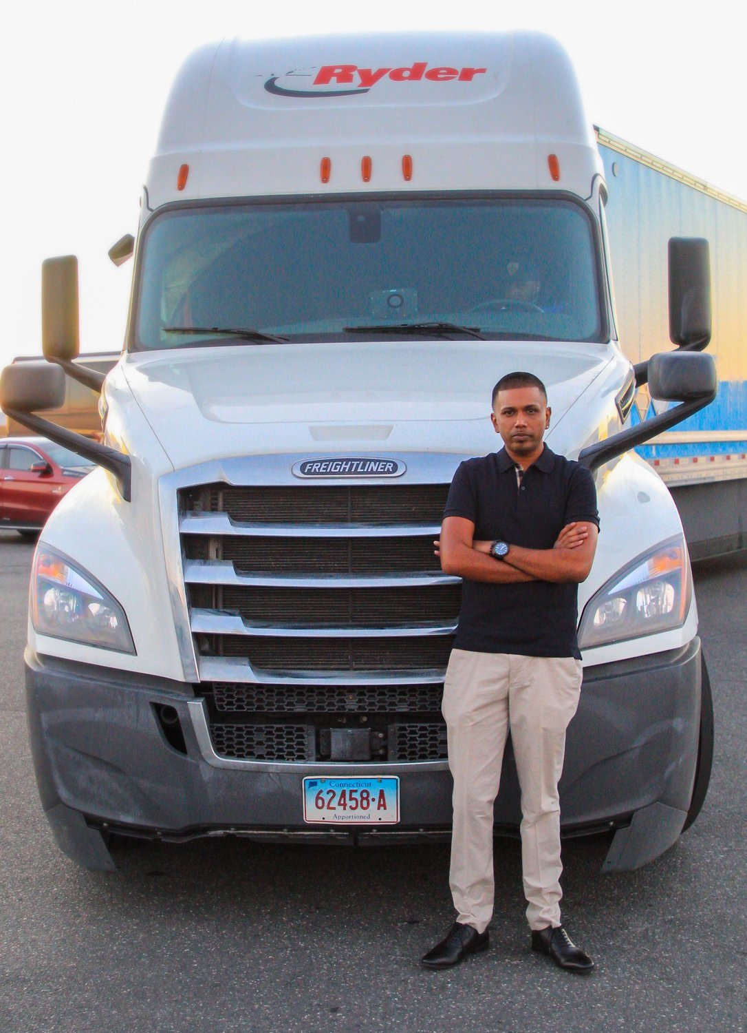 Ken Deocharran started his company with a minivan, and now has contracts with Ryder to lease trucks that deliver packages for Amazon.