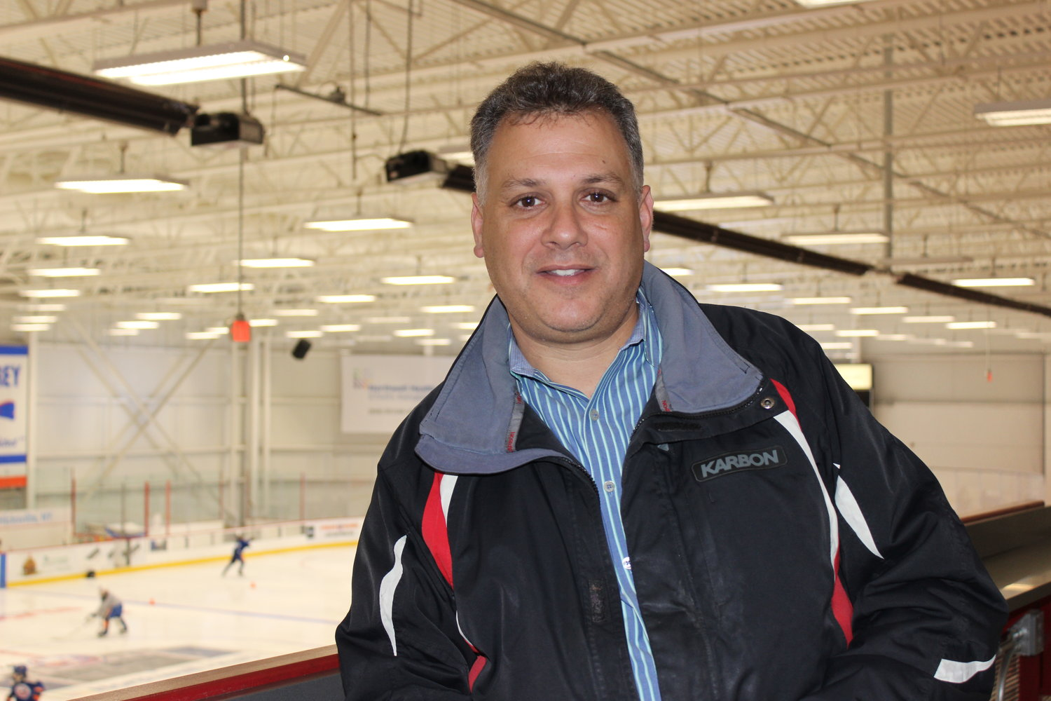 Thomas Columbia, an NHL off-ice official and East Meadow father, is seeking to start an East Meadow hockey team for sixth to twelfth-grade students.