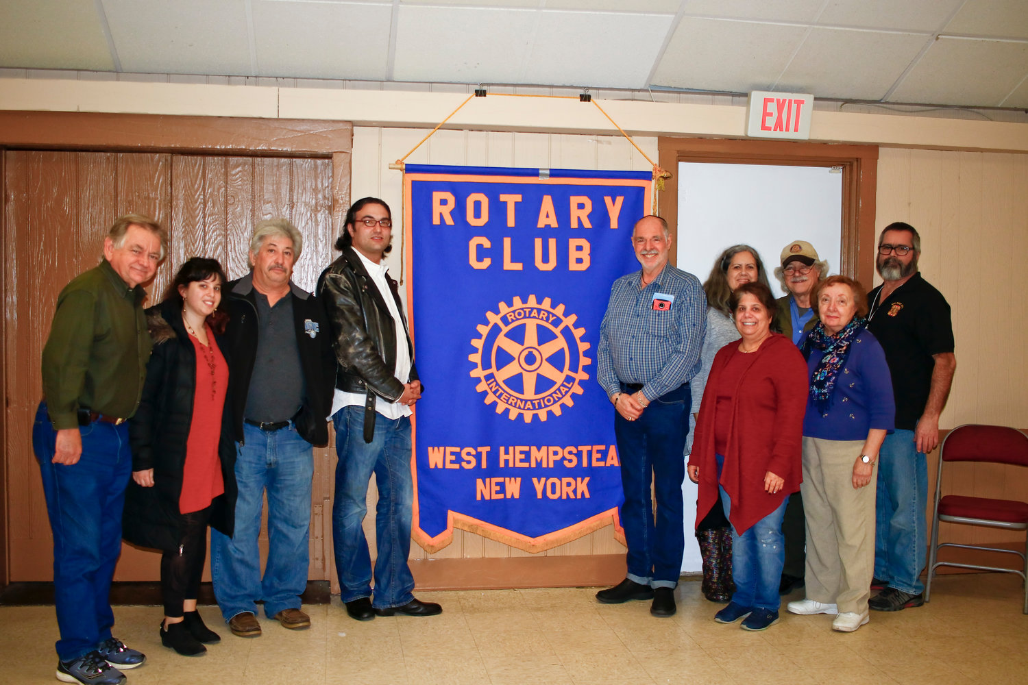 The Central Nassau Rotary Club will use half the proceeds from the art show to fund their local projects and charity work in Franklin Square and West Hempstead.