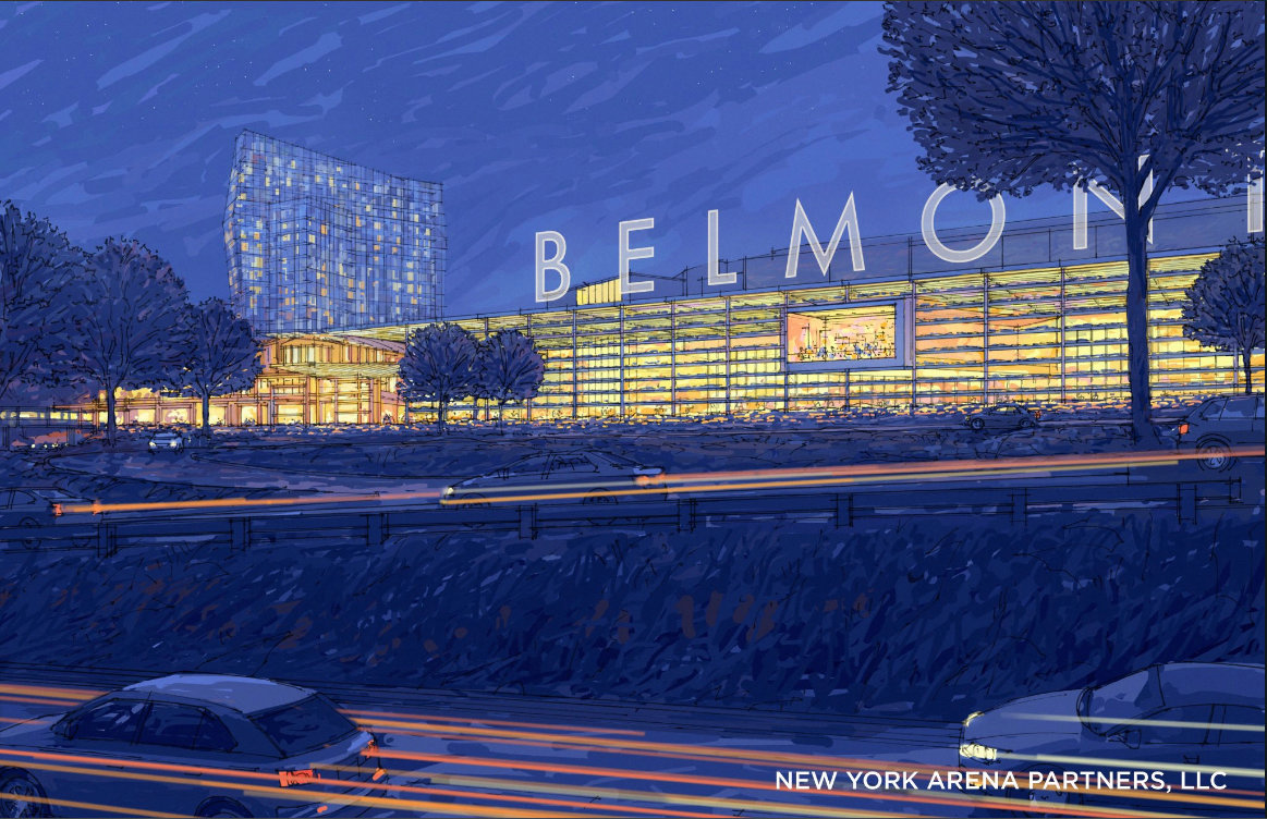 Construction of the proposed Belmont arena project — which is to include a 19,000-seat hockey arena, retail villages, offices and community space — might be delayed because the public comment period on it was extended.