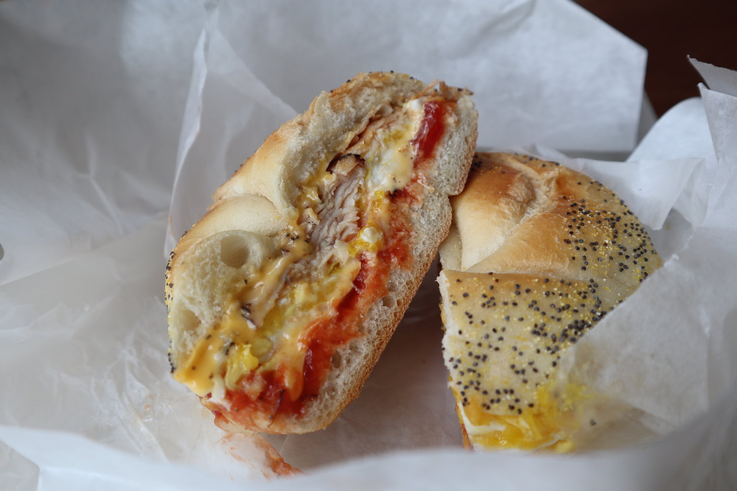 """Every deli has to make a good egg and cheese,"" said Ward's customer Mark Valencia."