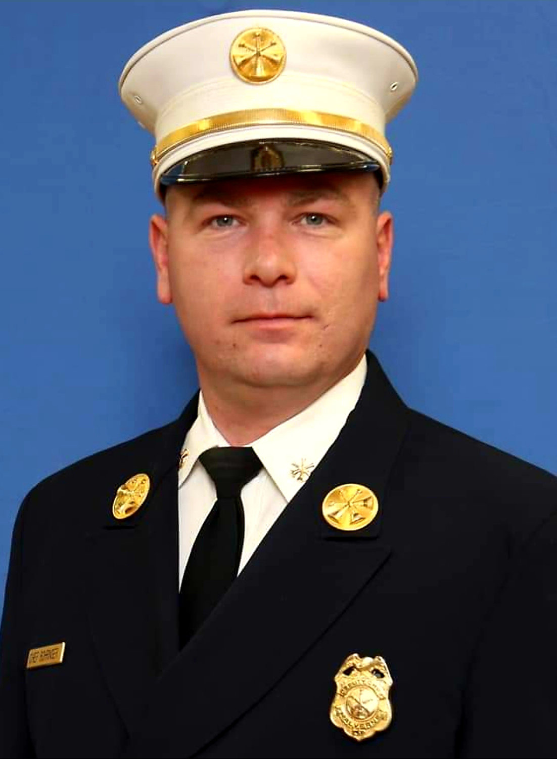Second Deputy Chief Ernest Bohringer, of the Malverne Volunteer Fire Department.