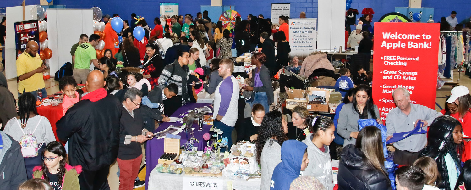 Nearly 1,600 people attended the inaugural Herald Kidz Zone Expo on March 3 at the Friedberg JCC in Oceanside.