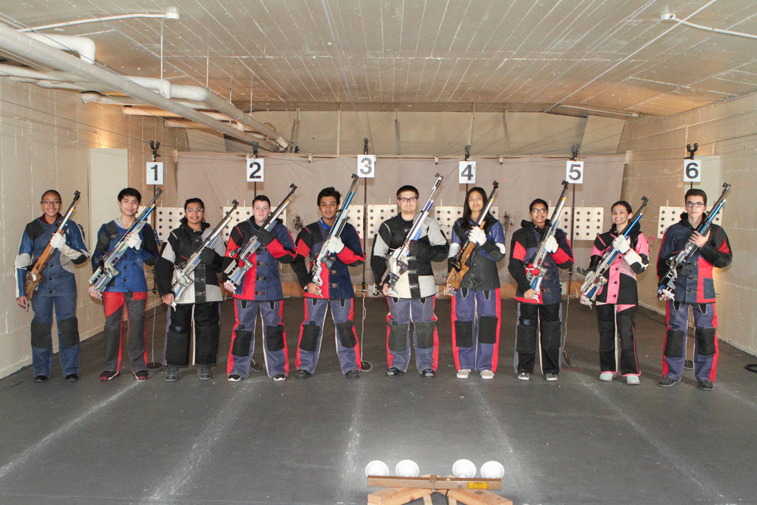 The Valley Stream District Rifle Team closed out its season with an undefeated 14-0 record.