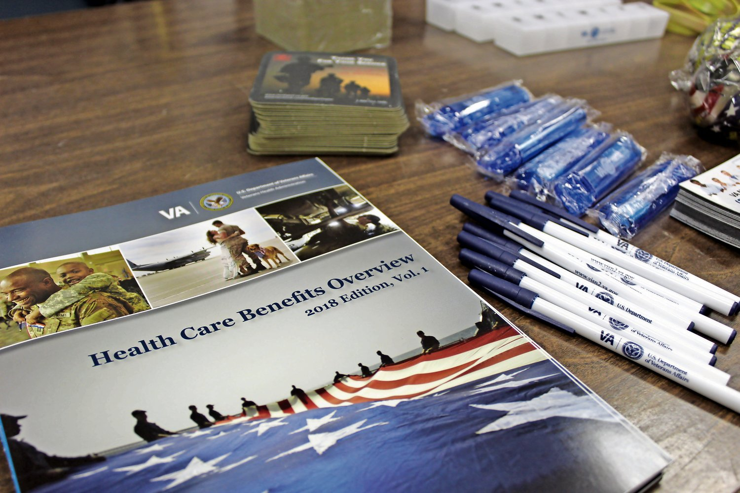 Representatives from Northport VA and Nassau County's Veteran Service Agency provided post members with an update on their eligibility benefits during a Q&A forum on Feb. 27.