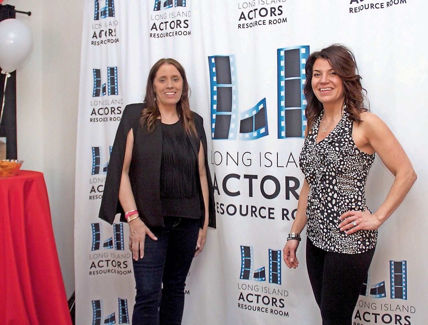 Paula Curcuru, left, and Irene Neglia, of LI Actors Resource Room, are committed to teaching children the business of acting as well as providing fun opportunities for non-actors.