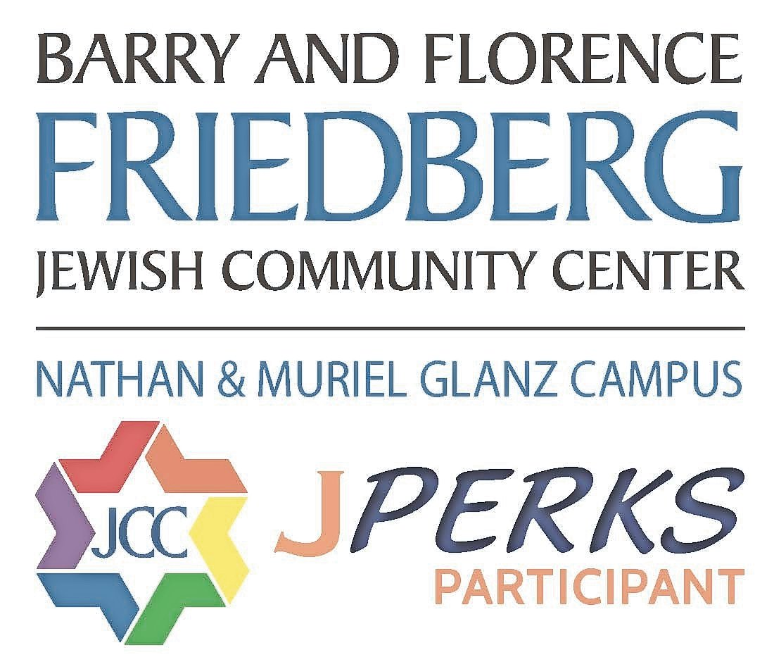 Newly introduced to the J-Perks program, businesses that participate receive a window cling, above, to display in their storefronts, indicating that JCC members can get a discount there.
