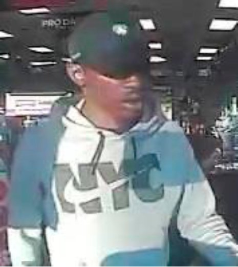 The man, above, allegedly stole a credit card and used it to purchase items from the GameStop at 253-10 Rockaway Blvd. in the Five Towns Shopping Center on Sept. 15.