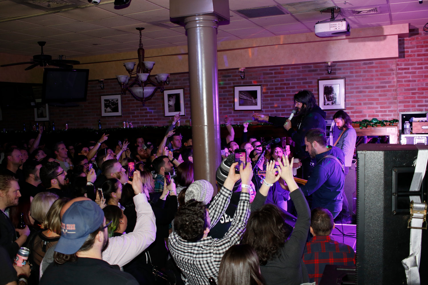 Taking Back Sunday played a sold-out show at R.J. Daniels in Rockville Centre on Monday.