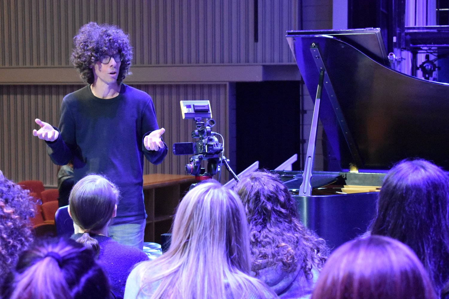 """Classical music is a bit of a hard sell, and one of the things that we want to do is change that perception,"" Gargiulo told the students."