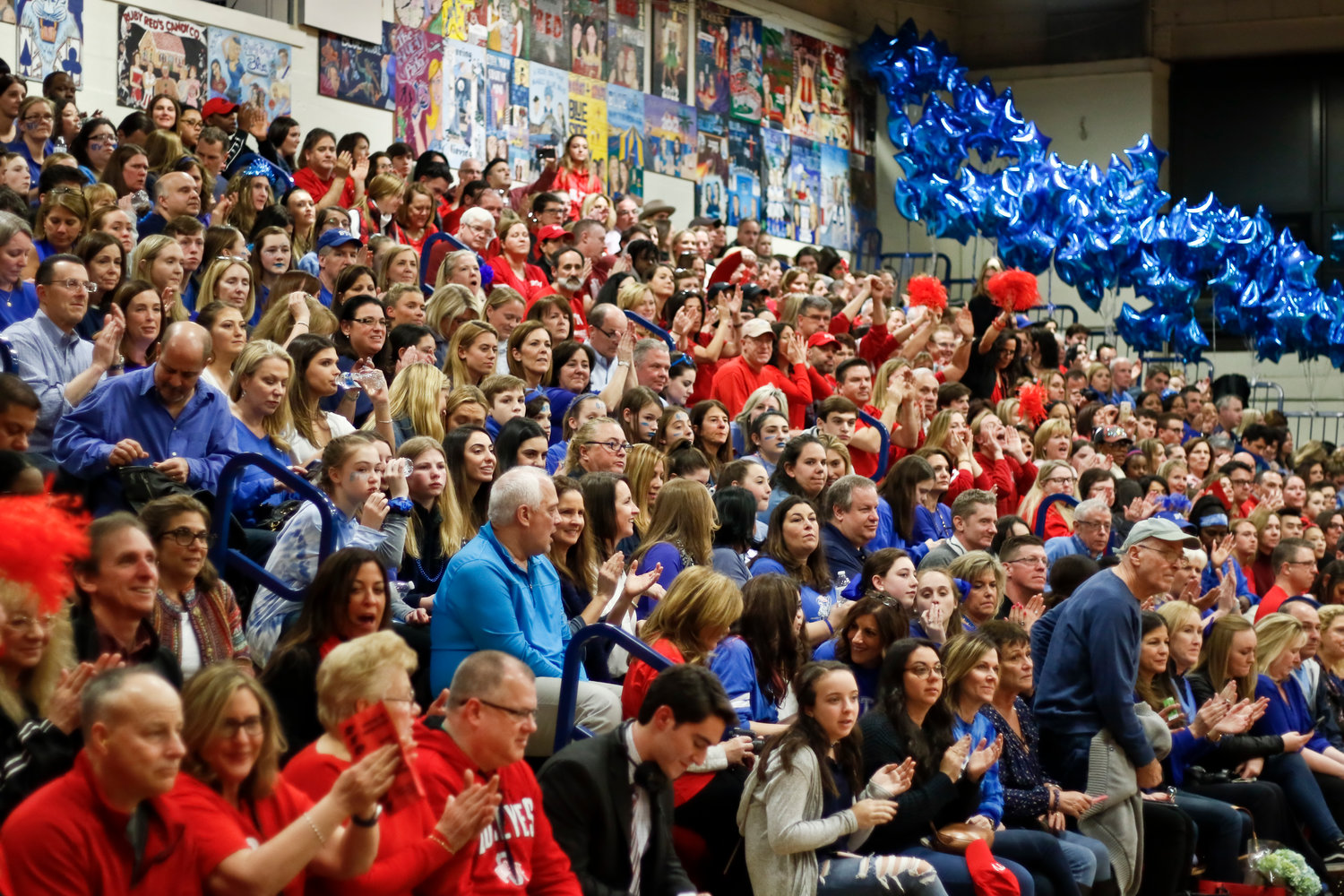 Hundreds packed South Side High School's gymnasium for all three nights of the competition.