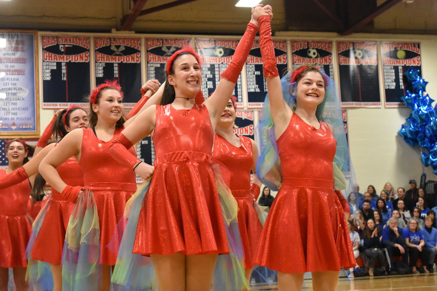 Tap dancers wowed the crowd.
