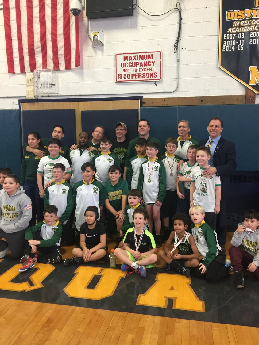 The Lynbrook Titans Wrestling program is thriving in its 41st year with a record number of members, and had a team-best 14 athletes place in the county tournament.