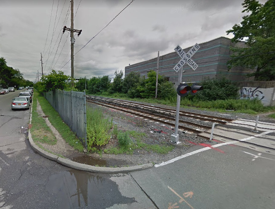 The Long Island Rail Road street-level grade crossing at Urban Avenue in Westbury is being eliminated and replaced with an underpass. Construction is expected to be complete this fall.