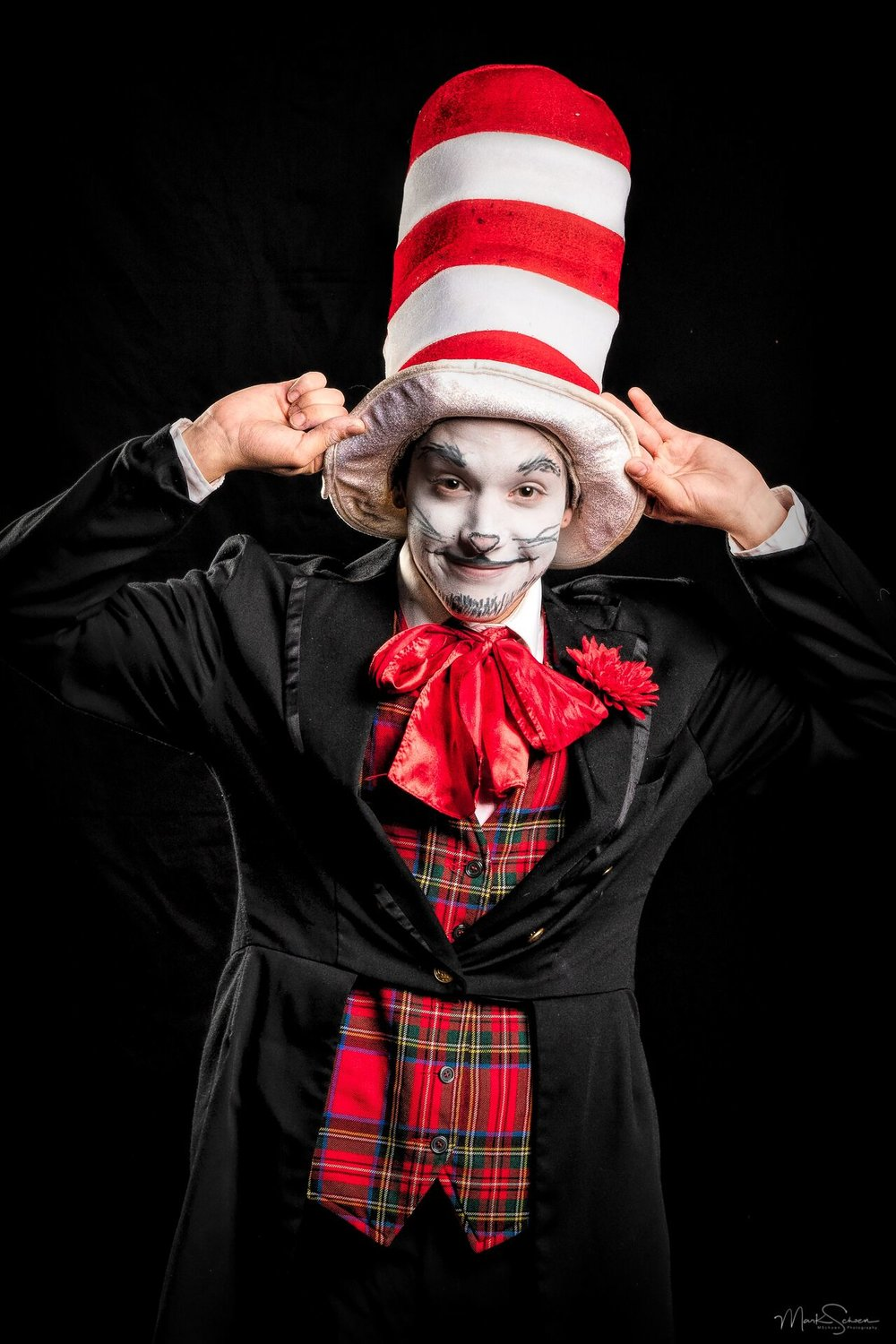 The Cat in the Hat comes to life in Plaza Theatrical Productions' staging of the classic Dr. Seuss tale March 16-17.