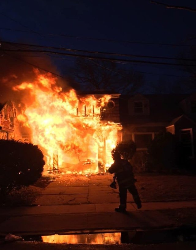 579 First Street in Cedarhurst suffered severe fire damage on March 16.