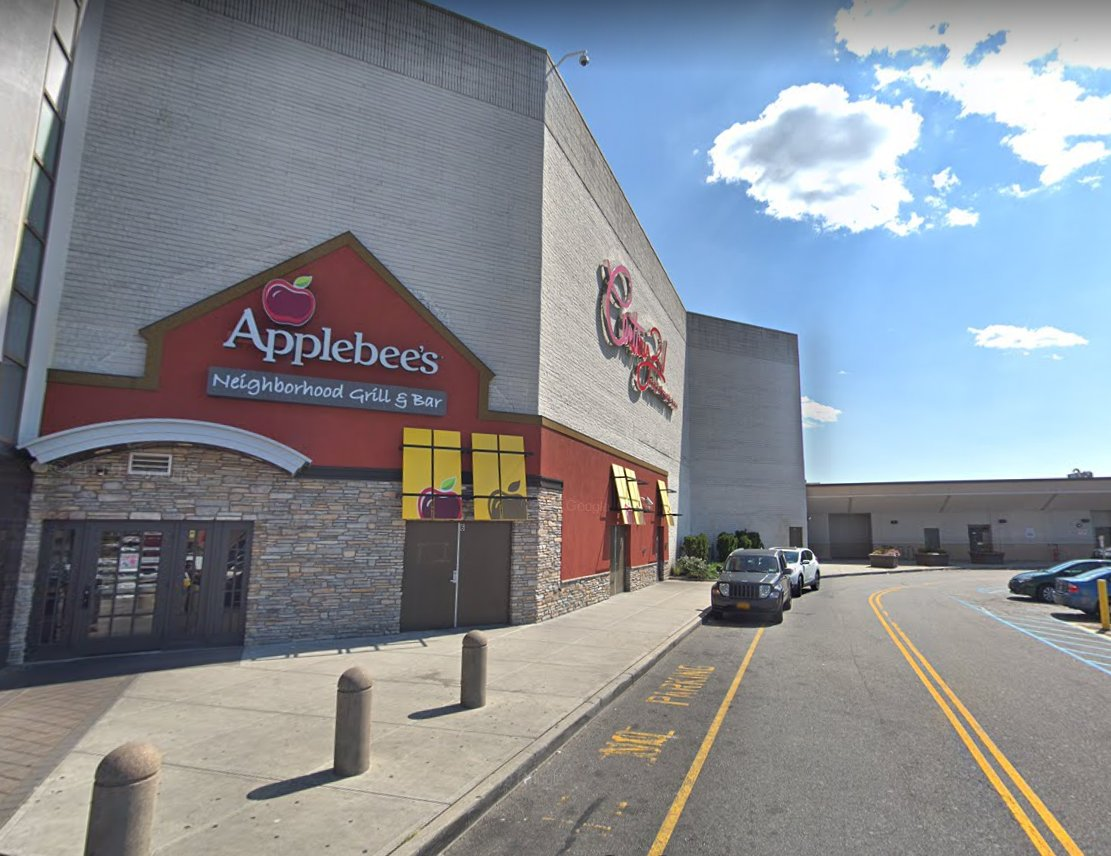Four men were arrested for getting into a brawl at the Applebee's at the Green Acres Mall on March 16 at 11:54 p.m.