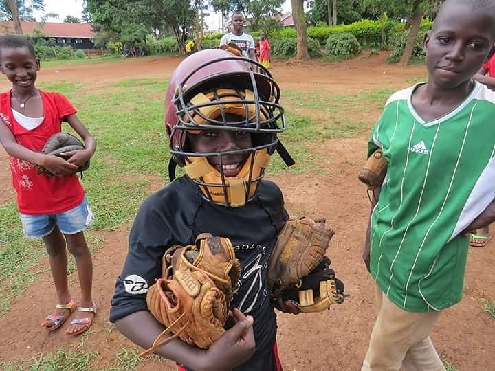 South African children rarely own baseball equipment, Goldstein and Soren said.