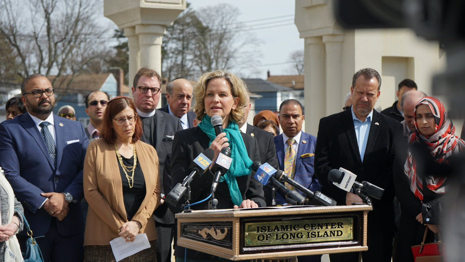 County Executive Laura Curran expressed her solidarity with Muslims living in Nassau County.