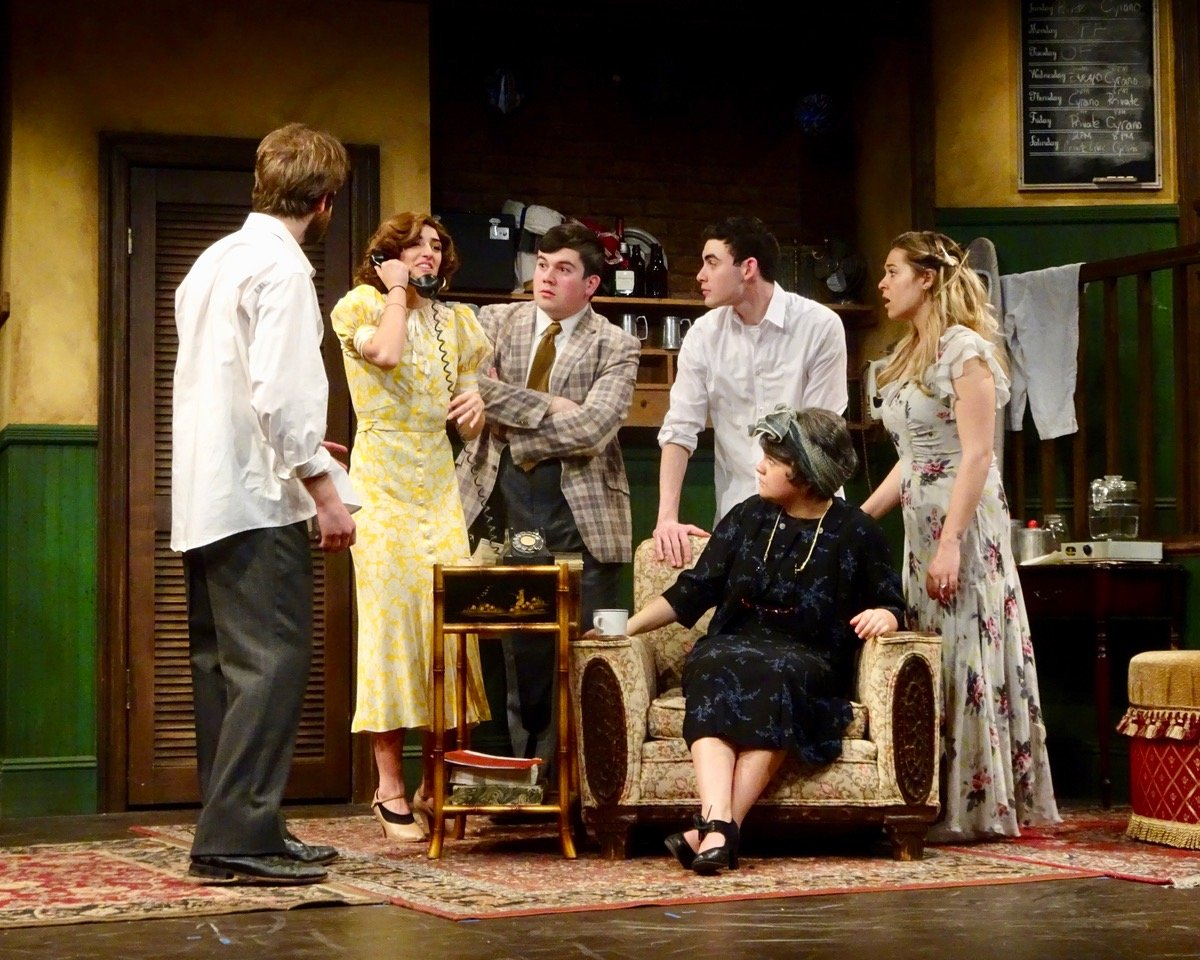 "Ken Ludwig's ""Moon Over Buffalo"" is staged at Nassau Community College's Little Theatre March 21-24 and March March 27-31."
