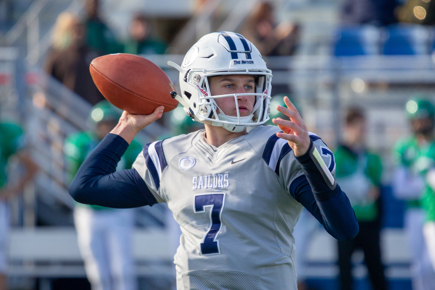 McKee had a record-setting season under center for Oceanside as a freshman last fall.