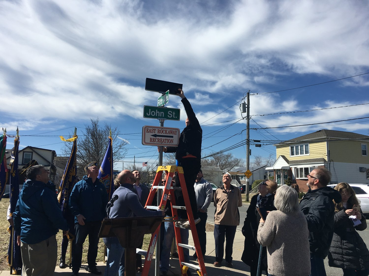 Street Named For E R Man Who Died In Shipwreck Herald Community Newspapers Www Liherald Com John rock inc., coatesville, pa. herald community newspapers