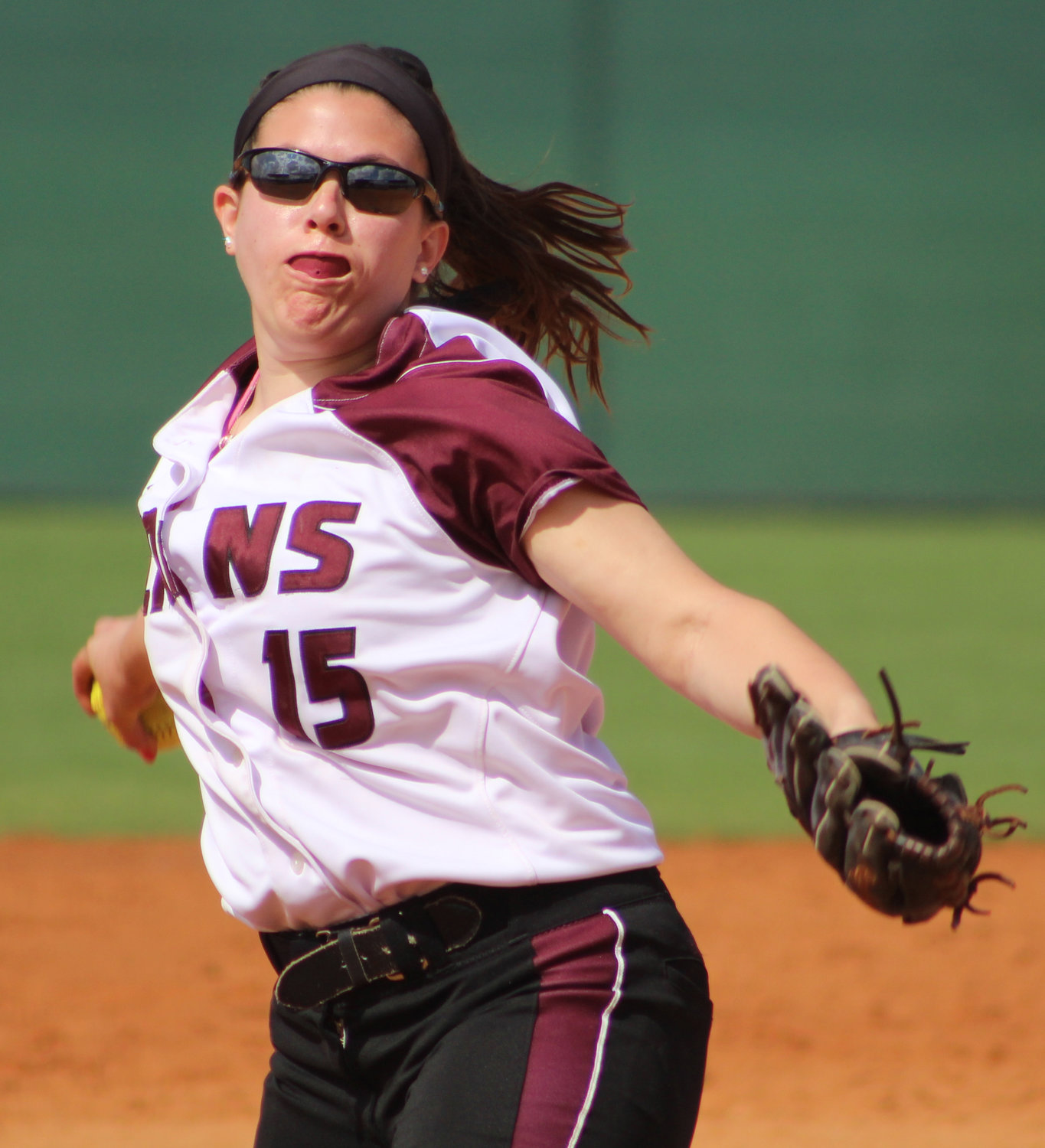 Molloy senior Jenna Turato, a Carey High School grad, won 18 games last year and led the East Coast Conference in innings pitched with 200-plus.