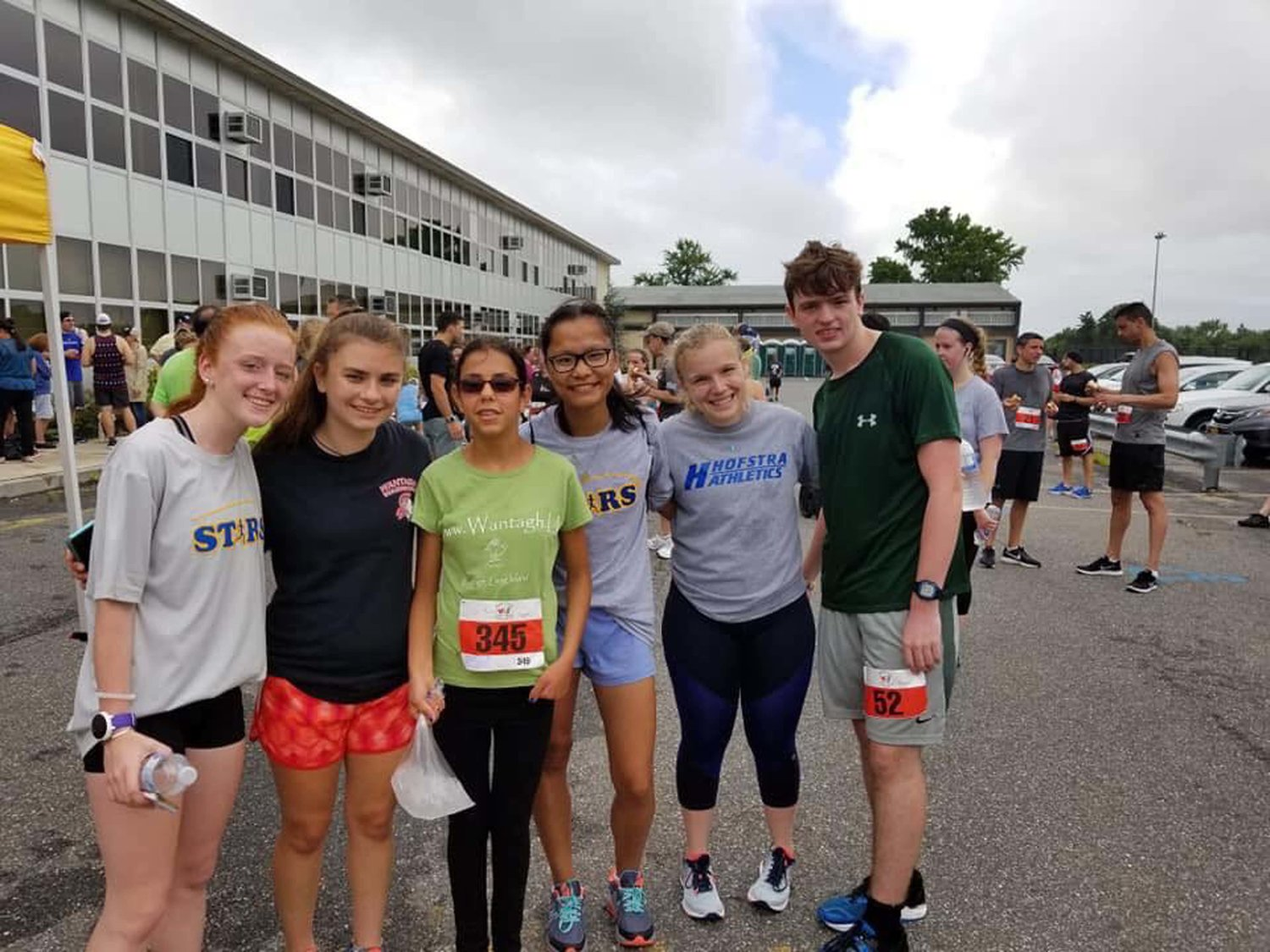 Some of The Shooting Stars at the Heart and Sole 5K last July 22 at Plainview-Old Bethpage Middle School in Plainview.