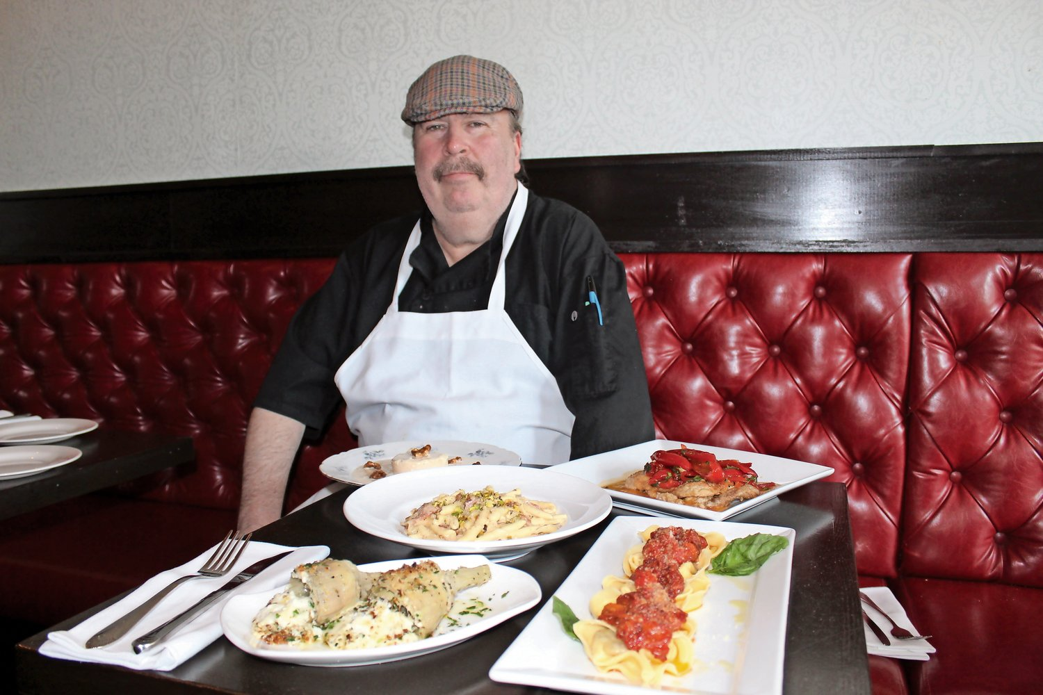 Chef John Cicinelli joined the kitchen at Sea Cliff's Tavern 227 last fall.