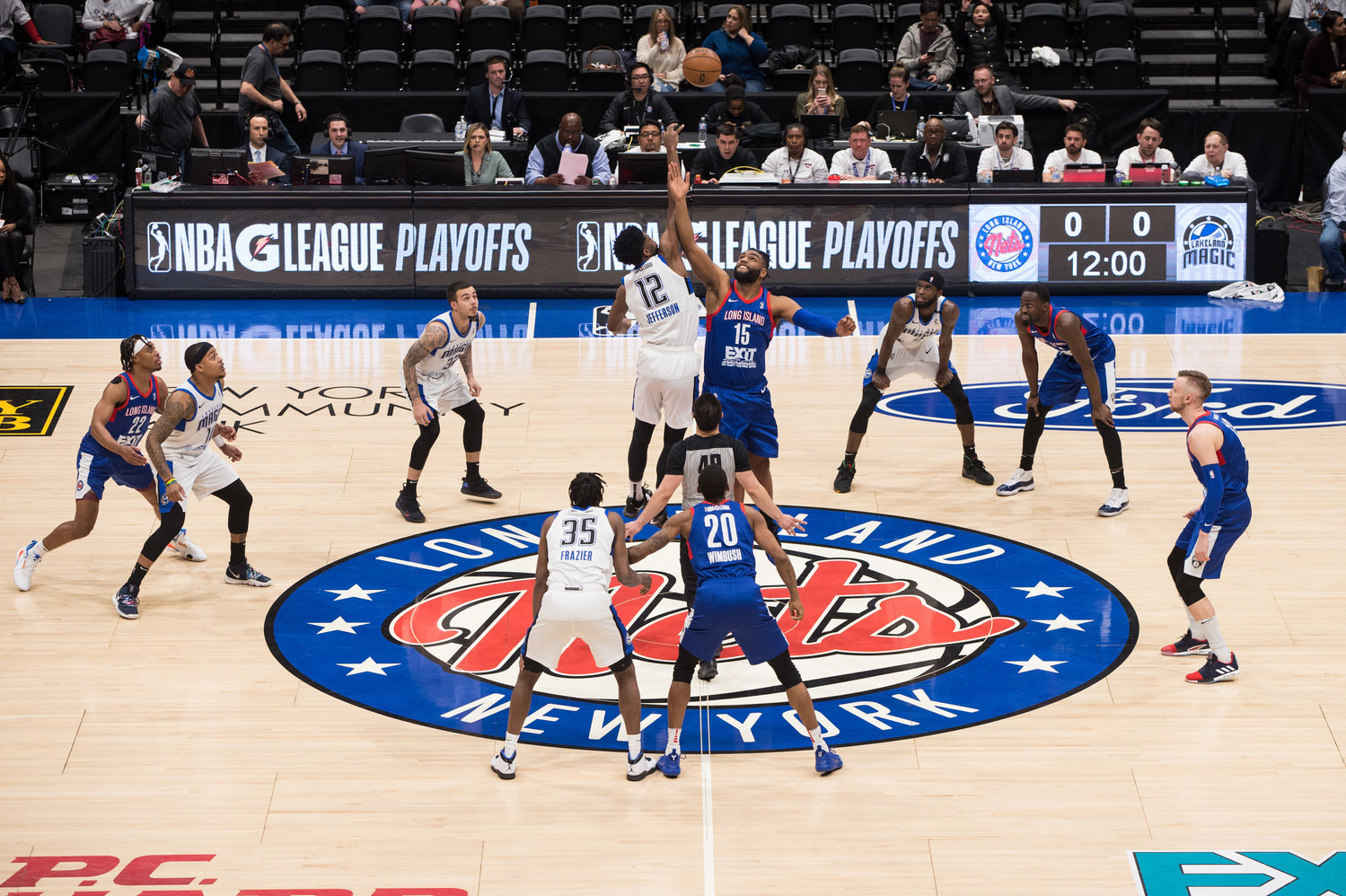 The Nets will be tipping off the G League finals against Rio Grande this Sunday evening.