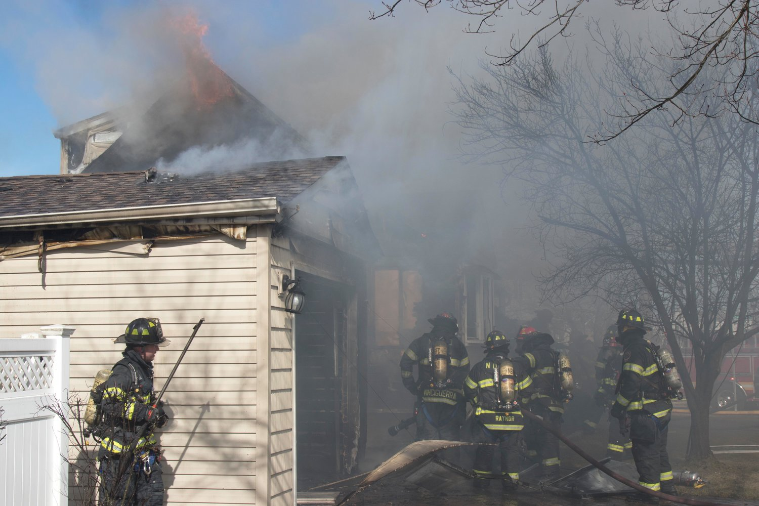 Bazarewski, along with her father and brother, helped extinguish an East Meadow house fire last month, sparing much of the home from destruction.