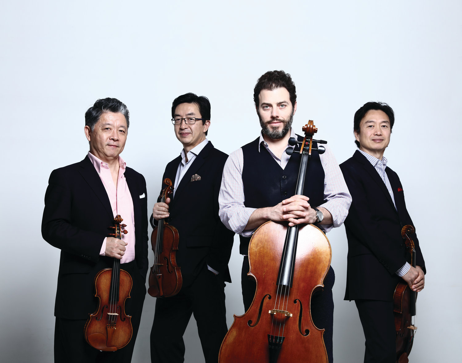 The Shanghai Quartet visits Tilles Center on April 7.
