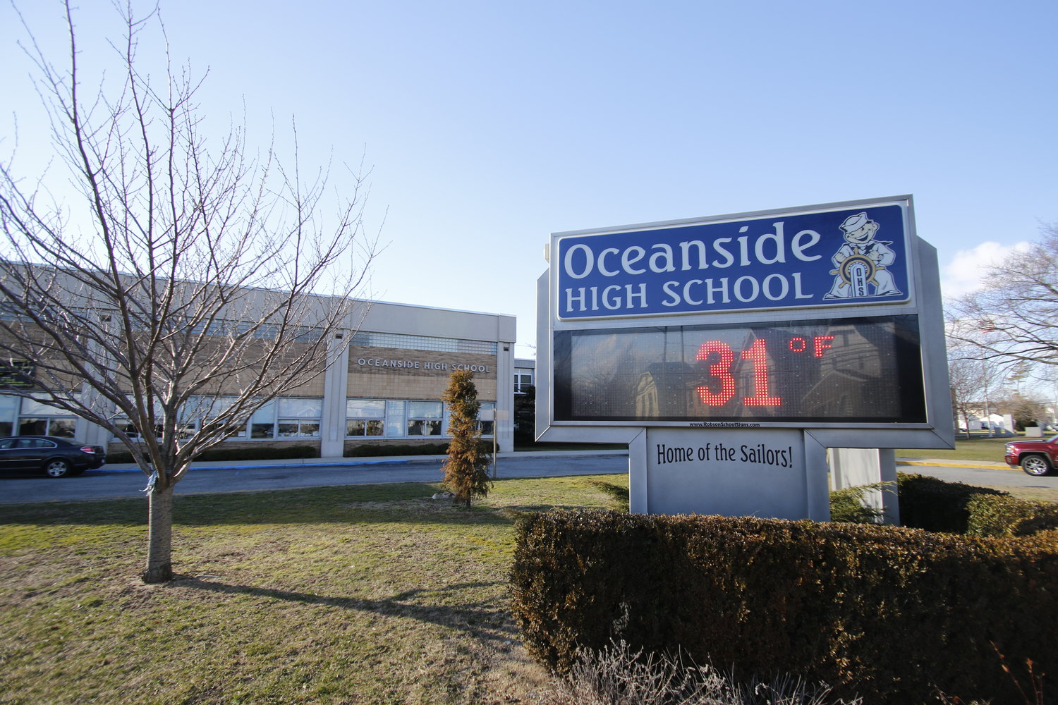 Oceanside School District's budget vote will include a separate ballot measure, in which voters will decide on using money from a capital reserve fund for artificlal-turf field repairs and interior door replacements at the high school.