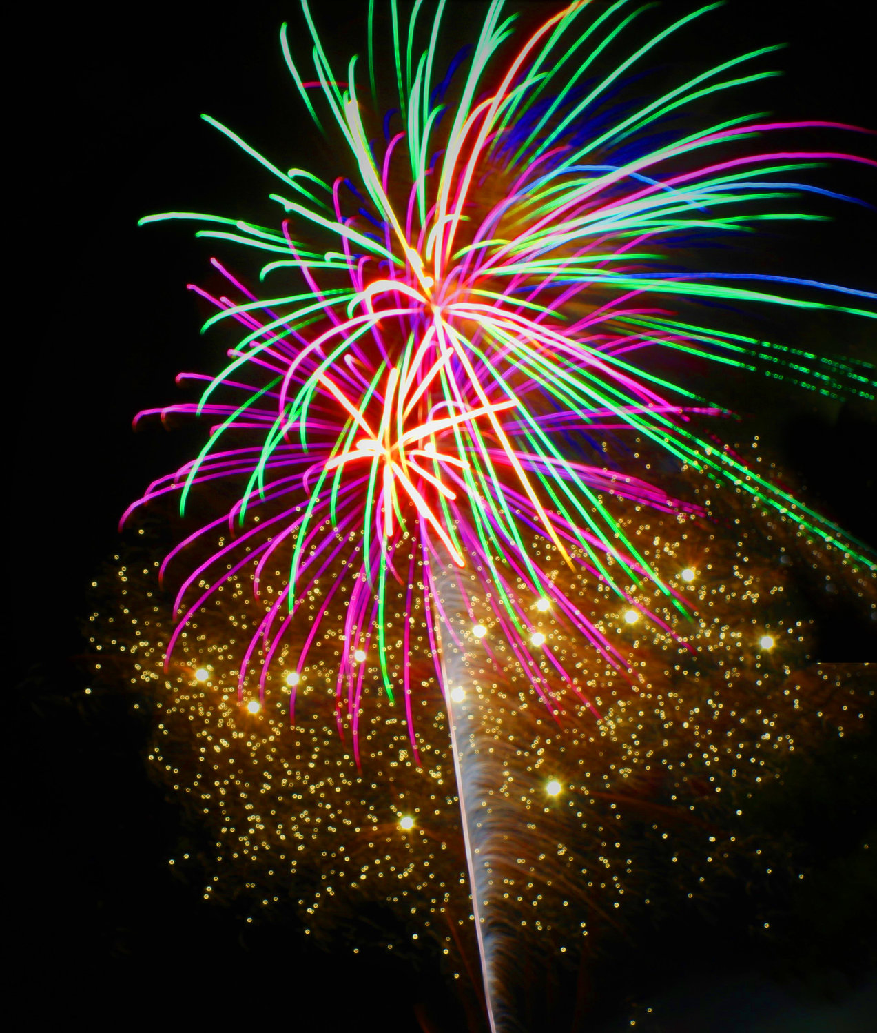 The highly anticipated fireworks show that closes out Baldwin Day will not happen this year, unless residents pitch in to help the Chamber of Commerce pay for the display.