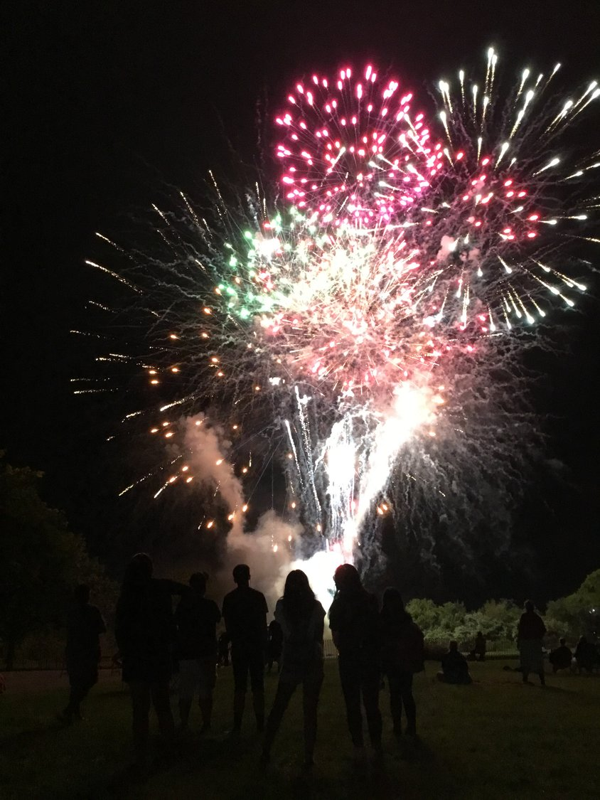 The fireworks, chamber officials said, have brought tens of thousands of people to Baldwin Day.