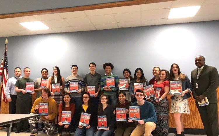 East Meadow High School honored 20 students during its annual Breakfast of Champions ceremony on March 29.