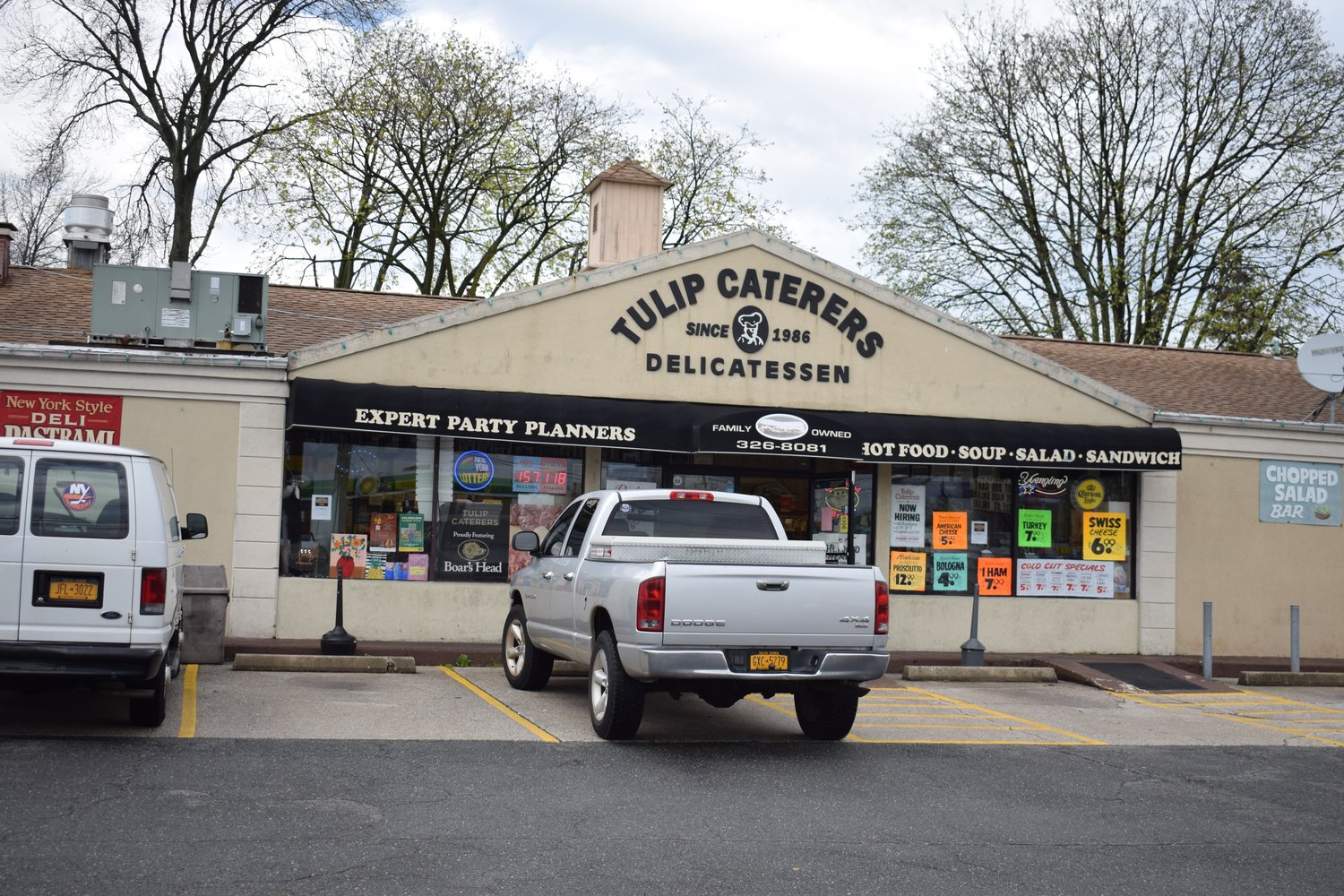 Tulip Caterers has been at Tulip Avenue and New Hyde Park Road for 33 years.