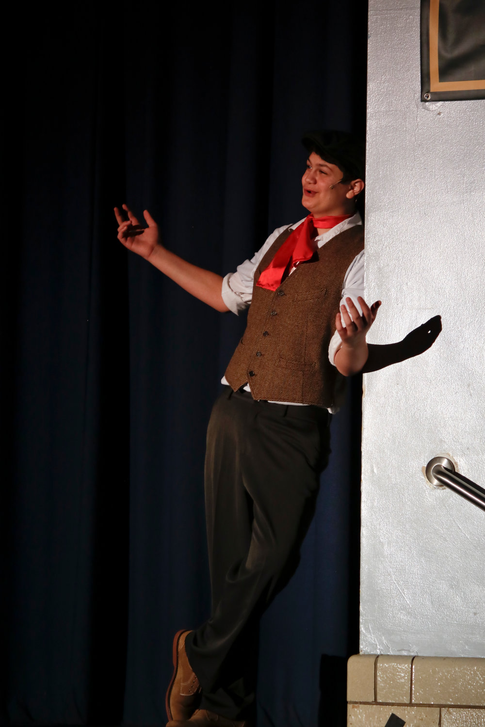 Chim chimney, chim chimney, chim chim cher-ee, sang Bert, played by Jake Truncale.