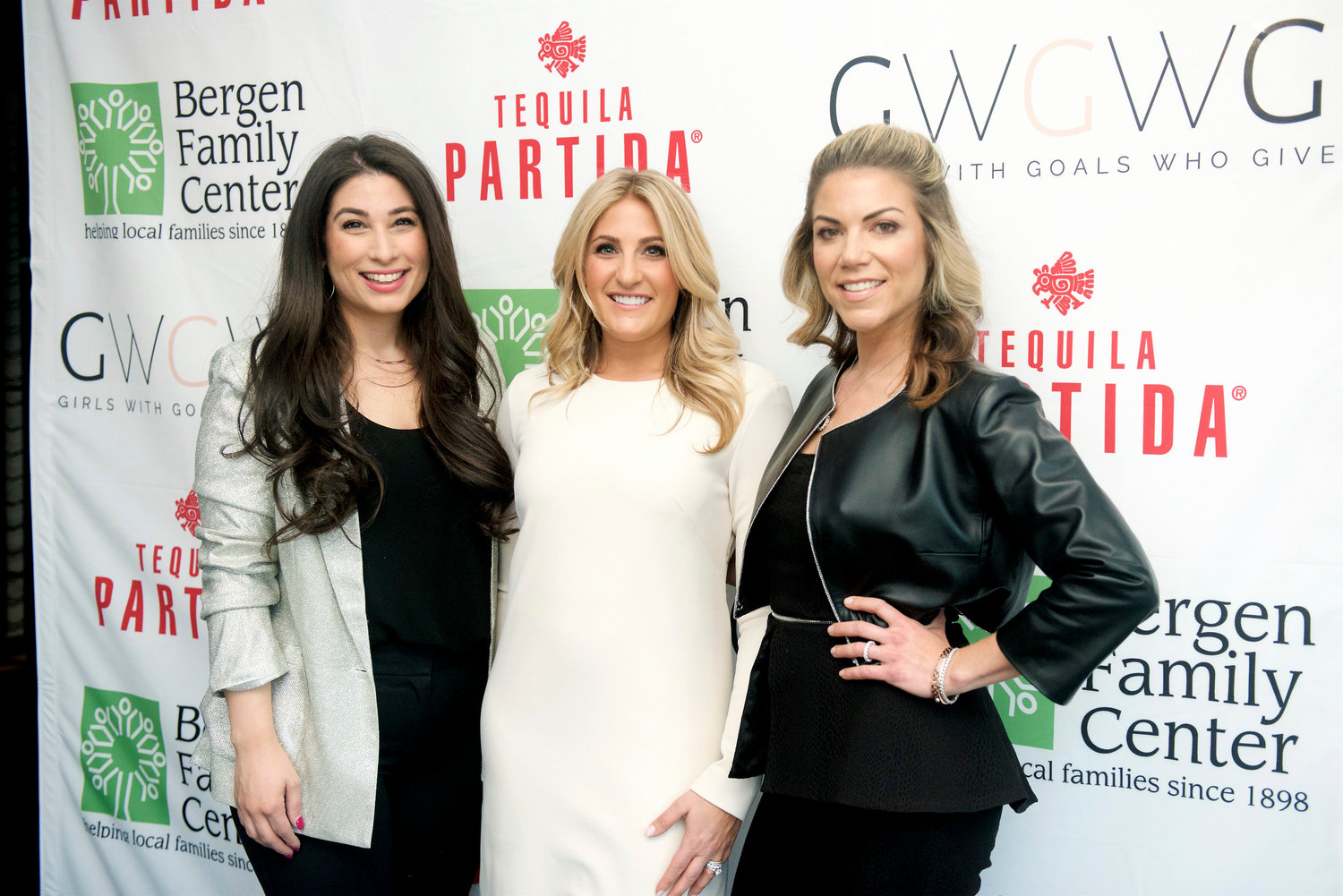 Girls With Goals Who Give aims to get women entrepreneurs networking and help local charities. From left were Hewlett High School alumna Stephanie Paradiso and co-founders Lisa Friesel and Lawrence High School graduate Amanda Hall.