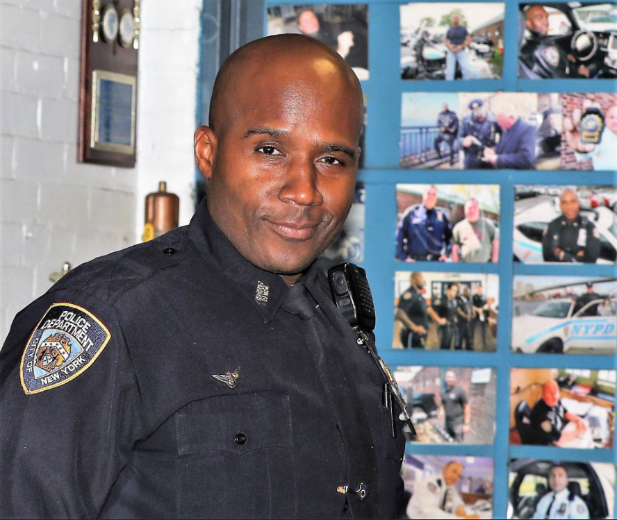 Marc St. Arromand, NYPD officer and Elmont resident, died at 42 following a motorcycle crash on April 11.