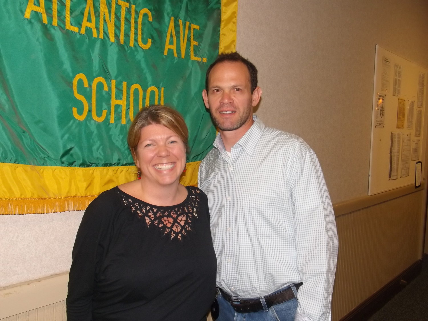 Board of Education Trustee Heather Hanson and President William Belmont are running for re-election to the Lynbrook school board.