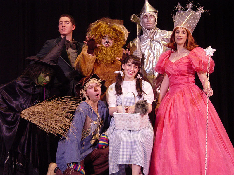 "Journey down the Yellow Brick Road when the BroadHollow Theatre stages ""The Wizard of Oz"" May 11-12."