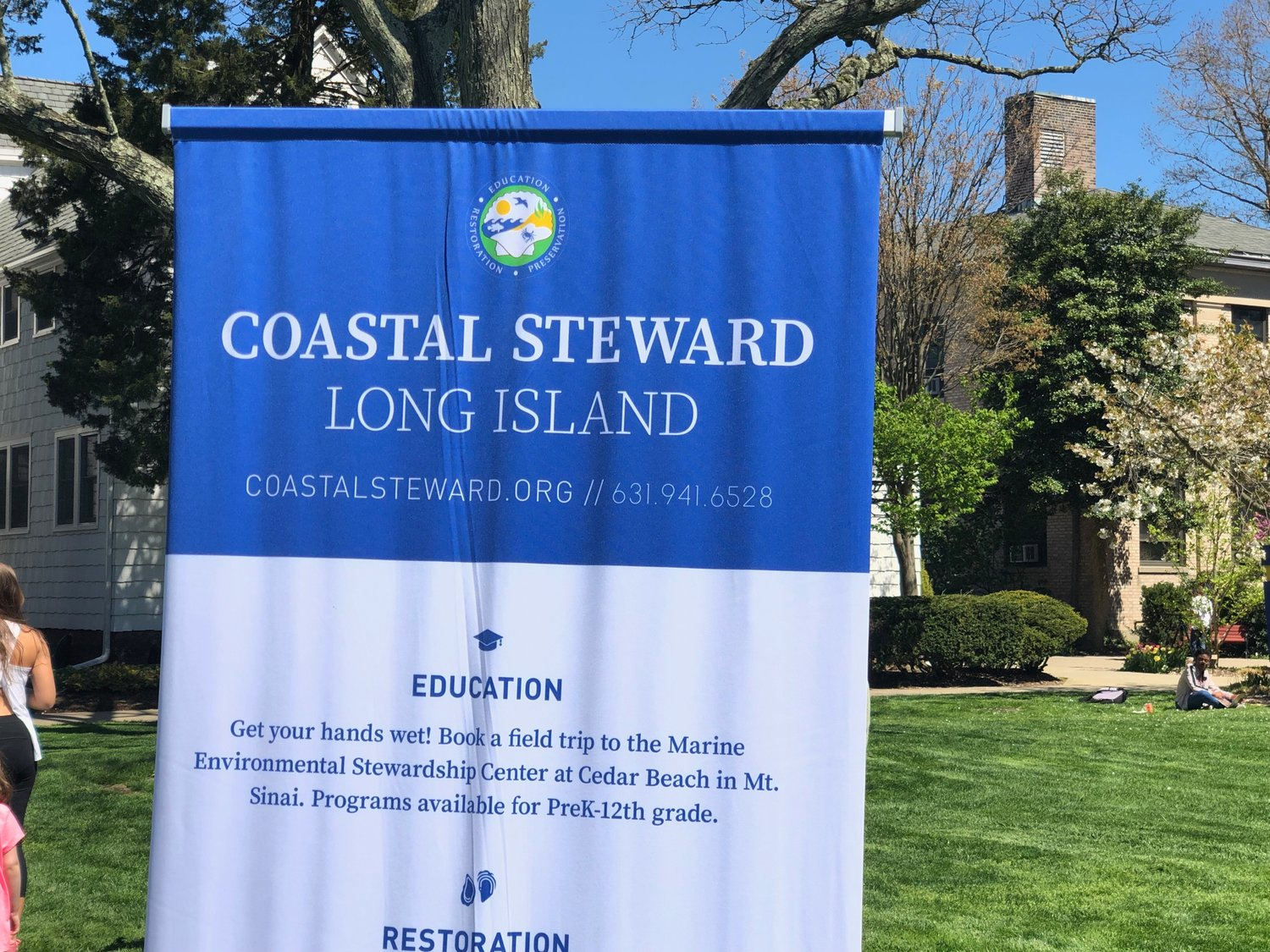 Coastal Steward Long Island was among the organizations that took part in the event.